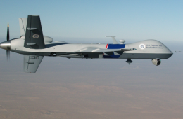 Un drone Predator des Douanes américaines. Source : US Department of Homeland Security